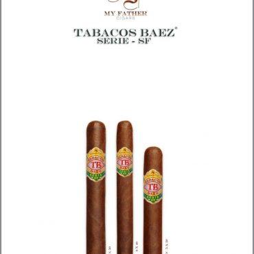 "Tabacos Baez, Serie-SF, ""Parejos, Corona"""